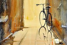paintings of cycles!
