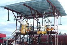 Truck Loading Platforms / Truck #loading racks safely provide operator access to the top of #tanker trucks.