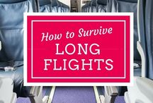 Long haul flight do's and donts