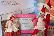 Holiday {Elf on the shelf}