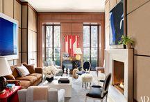 "Architectural Digest: Eric Cohler Design: February 2016 / #InThePress: Architectural Digest: ""Tour a Gramercy Park Triplex Designed by Eric Cohler"""