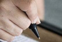 Writing it. / by Kathy Crosthwait