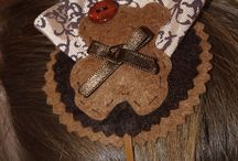 Diademas, horquillas y  broches