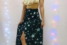 Stella black cover up skirt