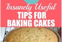 Tips for baking cakes