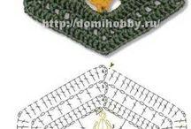 イイネ!かぎ針編み 編み図