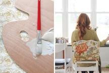 office / craft room / by Brooke Field