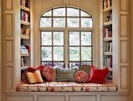 Interiors : Kiddies book reading nooks... / Place to read and dream...