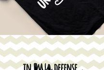 Silhouette ideas-t-shirts