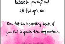 Inspire believe achieve