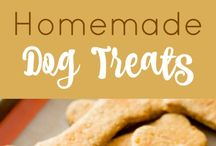 Gracie's treats / my pumpkin and peanut butter treats made especially for my dog
