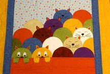 quilt de patchworkgatitos