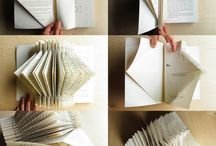 Altered Books and Art Made from Books / Beautiful creations that play with the art of the book form.