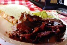 """HICKORY HILL BBQ / """"THE WAY IT USED TO BE"""""""