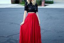 Maxi skirts