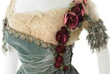 šaty po r 1900 / historické šaty