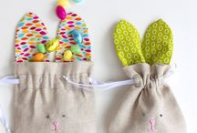 Rabbit Fabric & Sewing Projects