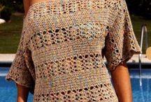 Blusas de crichet