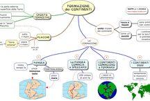 formazione dei continenti.