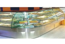 Bakery & Sweet Display Counter / Bakery & Sweet Display Counter is used in dairy, bekary and sweet shop. It is made from glass encased and sliding doors which is easy to handle and operate by anyone. These kinds of counters keep bakery and sweet product fresh.