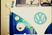 I love VW vans.  / by Melissa Wolf