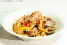 Zuppa di pese alla siciliana / Primi di psce