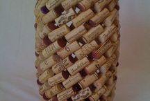 Cork holder / Vase / bin
