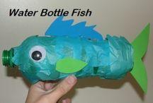 thama; onderwater wereld / ideen voor groep 1 en 2 bij thema onder water