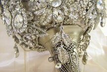 Platinum Weddings / Platinum wedding themes in grey and silver tones with a touch of bling and sparkle! / by EnGAYged Weddings