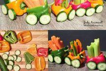 zelenina děti