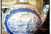 Pintura sobre Porcelana por Titina Corso