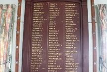 Military Honour Boards