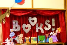 LIBRARY Bulletin Boards / by Colette Eason
