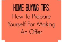 Tips for Buying a Home / Check out these tips before purchasing a new home.