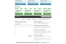 Self Service Pages I Pricing Overview  / Pricing Overview Pages or Self Service Pages