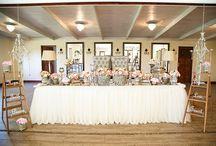 Wedding Decor / Wedding Inspiration, Decor, Table Setting