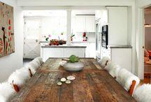 Kiva keittiönpöytä