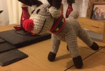 Knitting / Knitted toys to pass the time