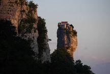 monaster / Katskhi monaster, Georgia