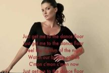 Just Get Me To The Dance Floor Lyrics Vid / http://www.youtube.com/watch?v=CPELmwrrQgc / by Blame Chelsea