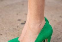 Smarag groen, silwer en wit