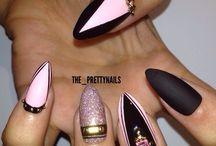 Νύχια Στιλέτο