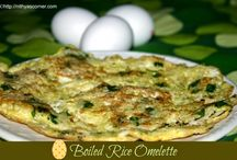 Omelette / Different kinds of Omelette Recipes