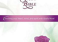 Nifty New Bibles / The latest in Specialty Bibles. Not only pretty, but filled with wonderful study tools to help you get the most out of your time with the Lord!