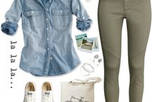 Outfits: verde militar
