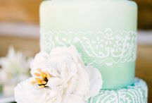 Mint cakes / Mint (wedding) cakes