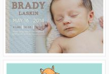Baby announcements / by Jennifer Ulmer