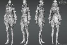 3D персонажи