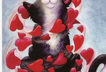 CAT LOVE / More cat pins, art, photos, everything / by Agatha León