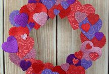 Valentine's Day / DIY and craft inspiration celebrating Valentine's Day!
